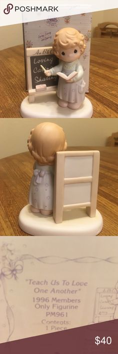 Precious Moments 1996 Members only Figurine Precious Moments 1996 Members Only Figurine, like new, still in original box Enesco Other