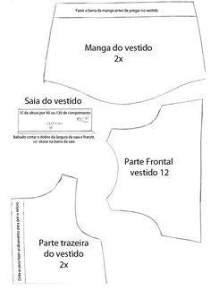 Moldes De Roupas De Bonecas Para Imprimir Pesquisa Do