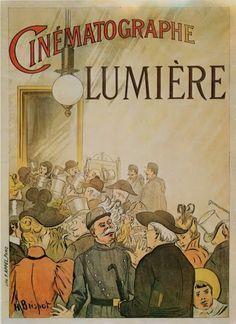 Cinematographe Lumiere poster - Google Search