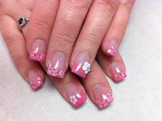 Pink Flowers | NAILPRO