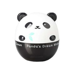 TONYMOLY PANDA'S DREAM WHITE MAGIC CREAM  This milky-white elixir is feather-light, yet effectively corrects uneven skin tone, brightens, and keeps skin moisturized with its quick-absorbing, water drop texture. Not to mention, it comes in the most cutest, bubbly Panda packaging.