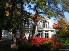 Realizacja projektu LK&558 - http://lk-projekt.pl/lkand558-produkt-614.html #lkprojekt #projektdomu #domjednorodzinny #domwstyludworku #dworpolski #ogrod