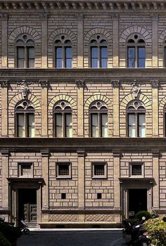LEON BATTISTA ALBERTI Palazzo Rucellai, Florence, 1446-51, Albert