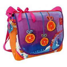 Orangenscheibchen! Eine Unikattasche von Leolini - Erfrischung pur! www.leolioni.at #custom #bag #handcrafted #leolini