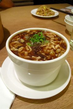 Din Tai Fung's hot and sour is the BEST. I need the recipe asap.