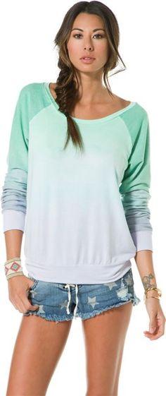 BLUE LIFE CLASSIC SWEATSHIRT  Womens  Clothing  New | Swell.com
