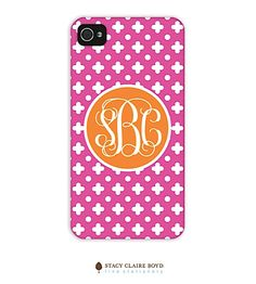 Stacy Claire Boyd-phone: Monogrammed!
