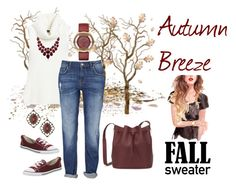 """""""Autumn Breeze"""" by prim-263 ❤ liked on Polyvore featuring White House Black Market, Marc by Marc Jacobs, Converse and Sophie Hulme"""