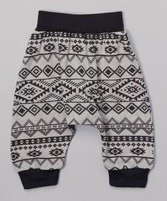 Gray Aztec Harem Pants Infant Toddler & unisex by DreamingKids01, $17.00