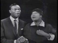 Steal Away-Mahalia Jackson & Nat King Cole    Mahalia Jackson and Nat King Cole sing on his television show in 1957.