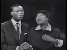 Steal Away-Mahalia Jackson & Nat King Cole    Mahalia Jackson and Nat King Cole sing on his television show in 1957.