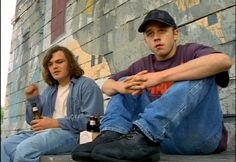 """X-files episode """"D.P.O."""" (1995) features Jack Black and Giovanni Ribisi as small-town Oklahoma slackers, one of whom develops super powers. I haven't seen this episode in over a decade, but I still remember being wowed by each of their performances, like """"who are these guys?"""""""