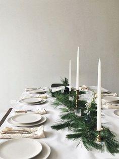 15 Beautiful Scandinavian Inspired Holiday Table Settings - NordicDesign