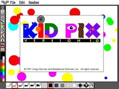 The program that turned you into a master painter: I remember my kid pix tablet-sketchy thing that was bulky as an elephant!