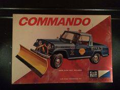 Model kit box art Jeep