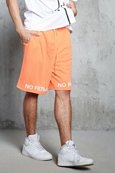 No Filter Mesh Knit Shorts