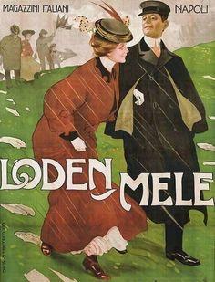 Metlicovitz, Leopoldo (b,1868)- Loden Mele, 1909