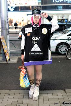 Shoshipoyo is a 19-year-old Japanese fashion student.  WIA Collections Top & YRU Platforms