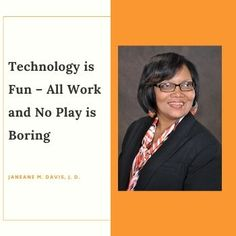 All Work and No Play is Boring - Technology is Fun * Janeane's World Technology Lessons, Technology Articles, Finding A New Job, Looking For A Job, Confidence Tips, Work Life Balance, Work Looks, You Are Perfect, Pen And Paper