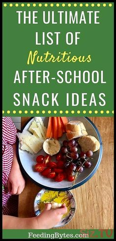 If you're stuck in a snack rut for your toddler or school-age child this mega list of snack ideas includes healthy and nutritious snack ideas you can mix and match. Choose from 5 food groups to come up with your own delicious combos. Keep this list handy Healthy Baby Food, Healthy Toddler Snacks, Healthy Eating For Kids, Toddler Meals, Kids Meals, Baby Snacks, Stay Healthy, Baby Food By Age, Baby Food Recipes
