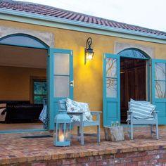 Enjoy the stunning views over Knysna at the Goose Cottage.  #TravelGround #Knysna #patio