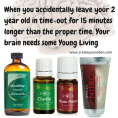 Brain/mind healing with Young Living essential oils