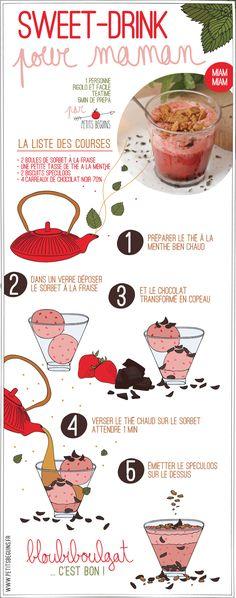 Sweet drink -  thé kusmitea - recette - Petits Béguins
