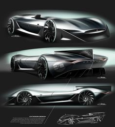 D-Type Vision GT on Behance