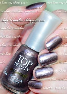 esmalte Top Beauty chocolate quente