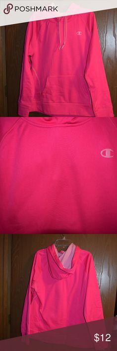 c0f67ce6e8118 Women s Pink Champion Athletic Hoodie Medium Women s Pink Champion Athletic  Hoodie size medium. Some wear