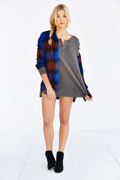 Project Social T Joey Henley Top - Urban Outfitters