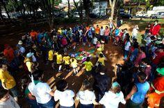 Matéria sobre Oasis Santo Amaro, do projeto GVT na Praça, no site Ciclo Vivo.