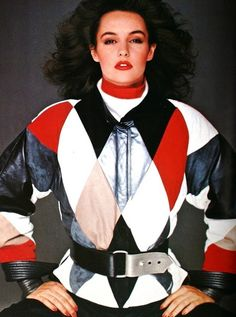 Jacket by Gianfranco Ferre, photo Herb Ritts