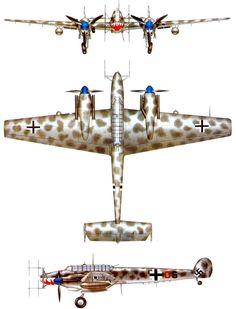 Night fighter I - Messerschmitt Bf 110G