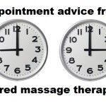 Massage Monday - Piece of advice from a tired massage therapist  Happy Massaging!