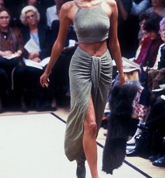 """Fendi '97 #fendi #90s #90sfashion #runway #runwaymodel #fashion #fashionshow #style #aesthetic"""