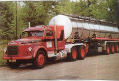 Volvo NB 88 bouwjaar 1986 nat./ int.tanktransport Marc Groteboer Rijssen Holland