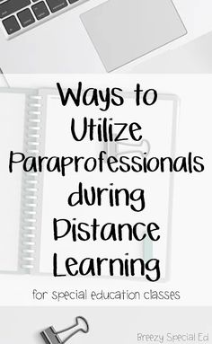 How to Utilize Paraprofessionals during Distance Learning : How to Utilize Paraprofessionals during Distance Learning How to use Classroom Paraprofessionals for special education classrooms during Distance Learning Special Education Activities, Special Education Classroom, Kids Education, Texas Education, Physical Education, Special Education Quotes, Waldorf Education, Learning Resources, Teacher Resources