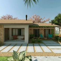 Reforma residencial - Casa de campo: Casas rústicas por Cíntia Schirmer | Estúdio de Arquitetura e Urbanismo #casasrusticasdecampo