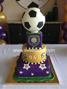 Orlando City Soccer Cake