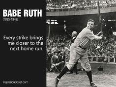 Babe Ruth Quotes Babe Ruth Quotes  Babe Ruth Motivational Inspirational Love