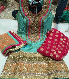 Punjabi Suit #punjabisuitsalwar #punjabifashion #jutti #mutyars #nakhra #kaint #suitsalwartrend #chunnidupatta #punjabans. For More Follow Pinterest : @reetk516