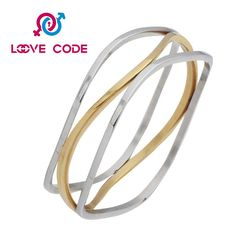Most popular personalized womens funky bracelets including steel color, gold. It is fit for any occasions and a nice gift for friends and lover. 316l Stainless Steel, Stainless Steel Bracelet, Colorful Bracelets, Most Popular, Gifts For Friends, Best Gifts, Bangles, Elegant, Nice