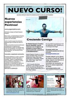 Clases de yoag en MADRID, CALSES DE YOGA EN MADRID, entra en www.aeroyoga.tv y www.yogacreativo.com