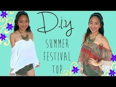 T-shirt Transformation into a Halter Top (No-Sew) - YouTube
