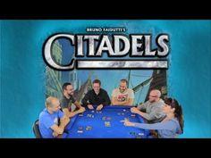 Let's Play Citadels - Board Game Play Through Old Board Games, Tabletop Games, Lets Play, Games To Play, Card Games, Geek Stuff, Fan Art, Let It Be, Teaching