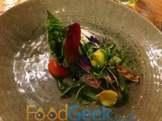Early Spring Offering, Simon Rogan @ The French