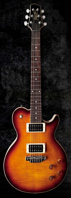 LINE 6 JTV-59 James Tyler-designed Single-cut Guitar with Variax Modeling - Tobacco Sunburst