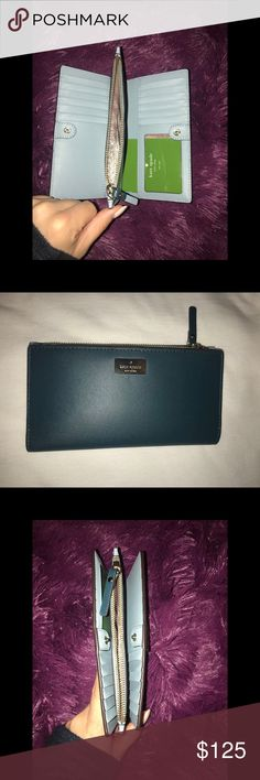 NEW Kate Spade Wallet Never used, in perfect condition!  Beautiful colors and plenty of space. kate spade Bags Wallets