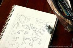 Scatter Joy ~Ralph Waldo Emerson - Studio Waterstone